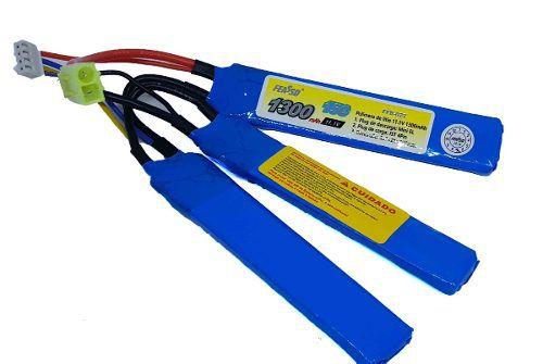 Bateria Lipo 11.1v 1300mah  Ffb-022 Airsoft Aeg