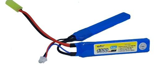 Bateria Lipo 7.4v 1300mah 15c  Ffb-021 Airsoft Aeg
