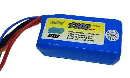 Bateria Para Airsoft 11.1v 1300mah 15c Airsoft Aeg Ffb-007