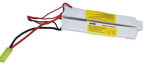 Bateria Para Airsoft 11.1v 1500mah 25c  Ffb-012 Aeg