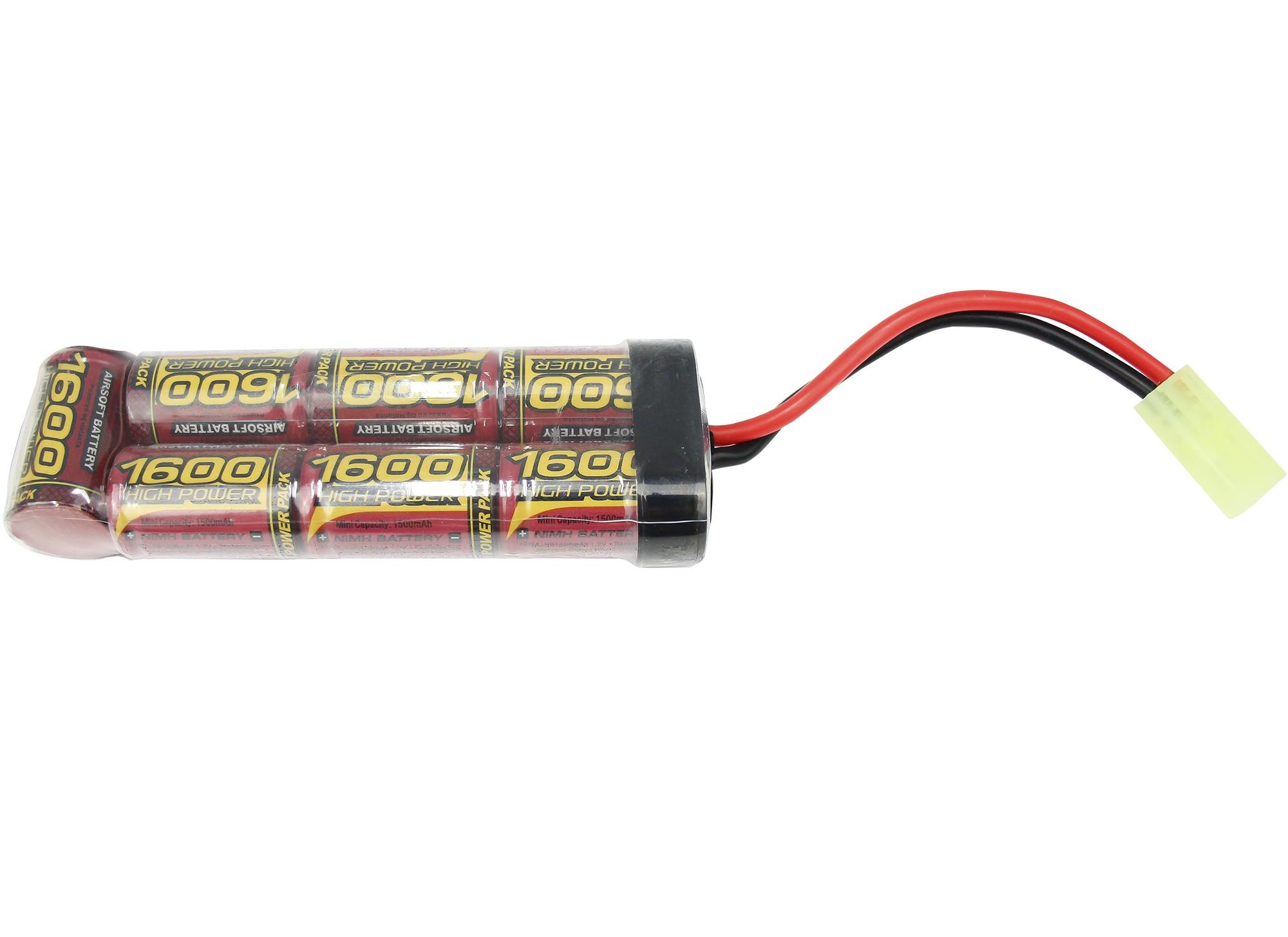 Bateria Para Airsoft Modelo Brinck 8.4V/1600 mAh (MLT)