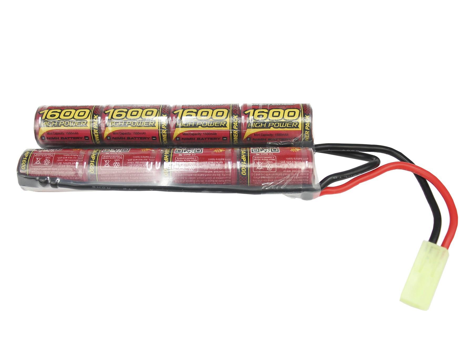 Bateria Para Airsoft Modelo Butterfly 9.6V/1600 mAh (MLT)