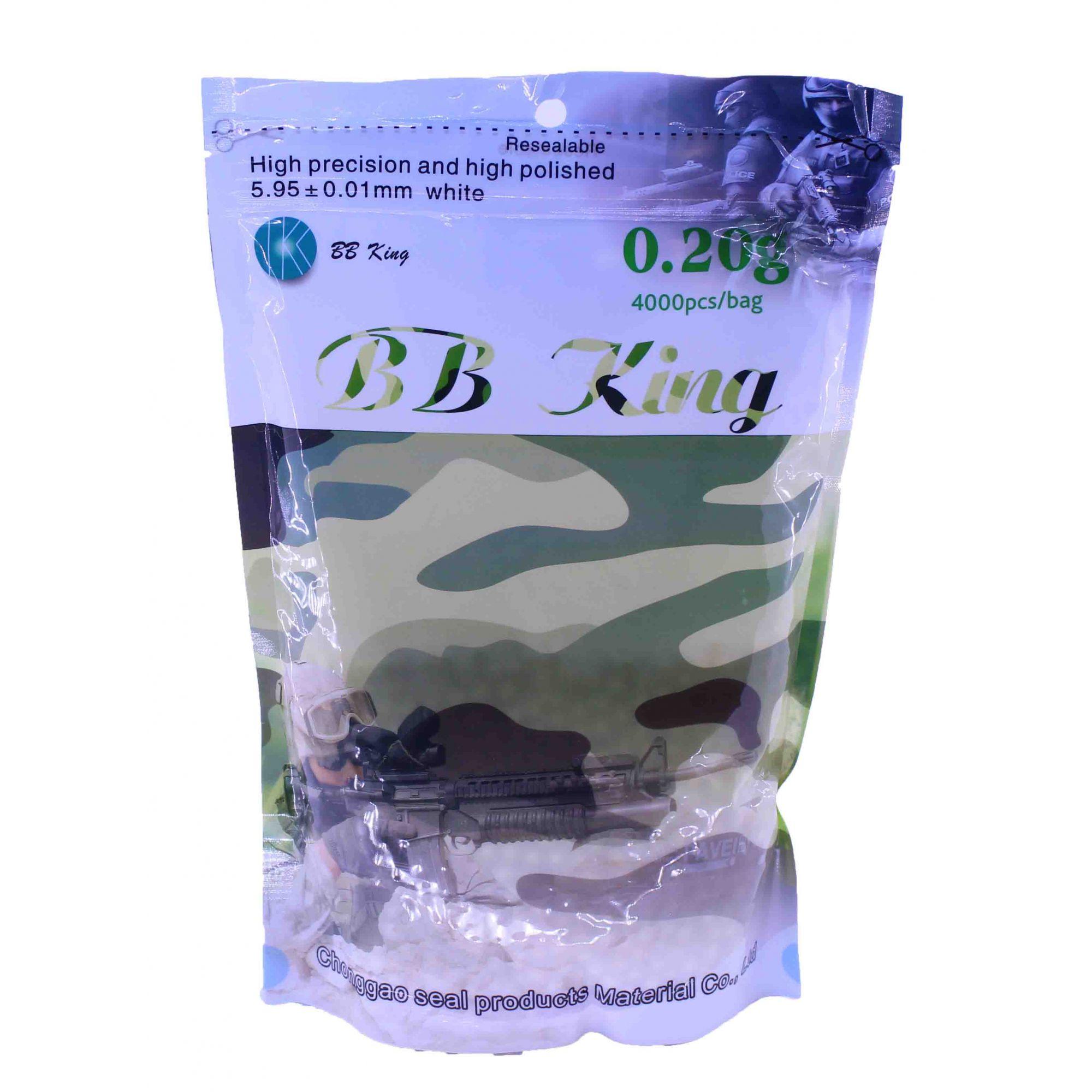 Bbs King 0,20g com 4000 Unidades