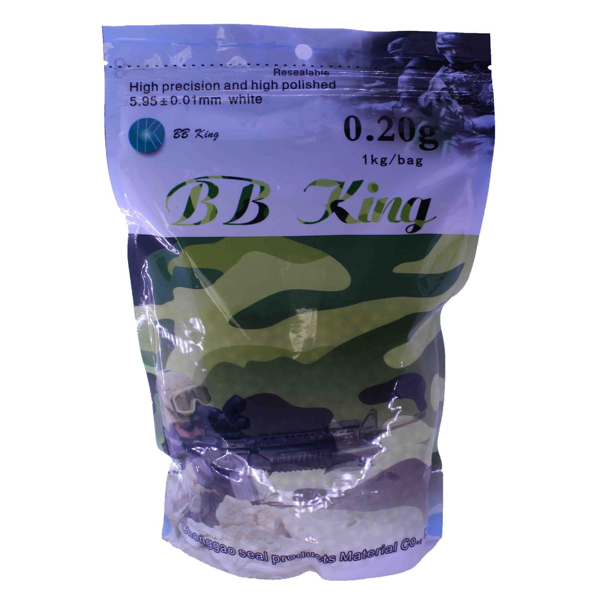 Bbs King 0,20g com 5000 Unidades