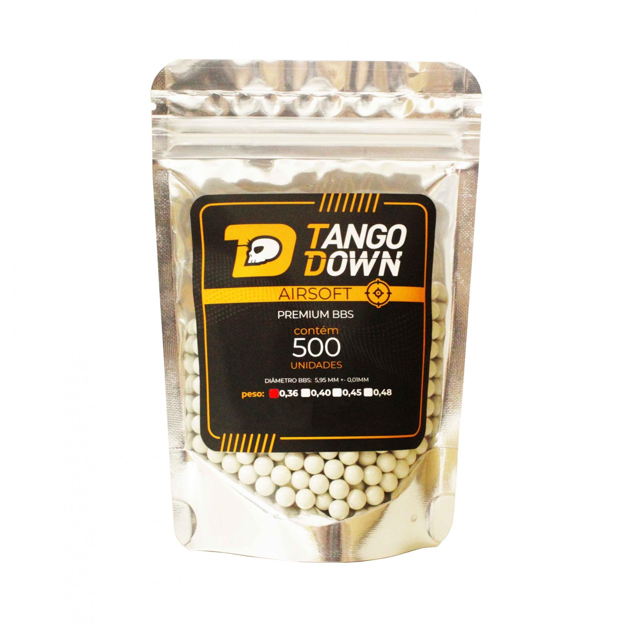 BBS Tango Down 0,36 com 500 Unidades