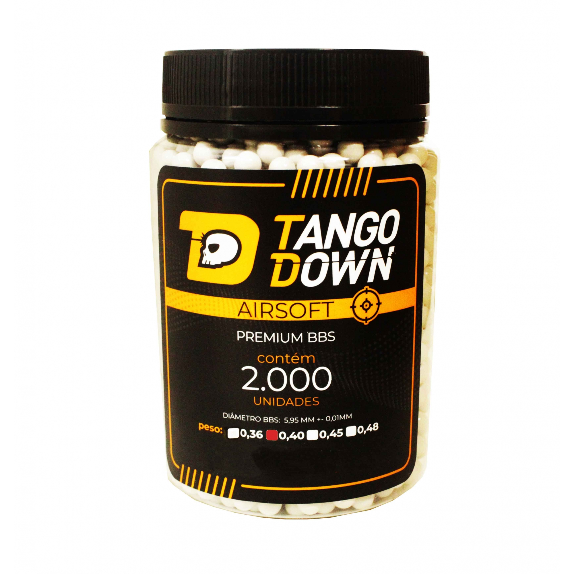 BBS Tango Down 0,40 com 2000 Unidades
