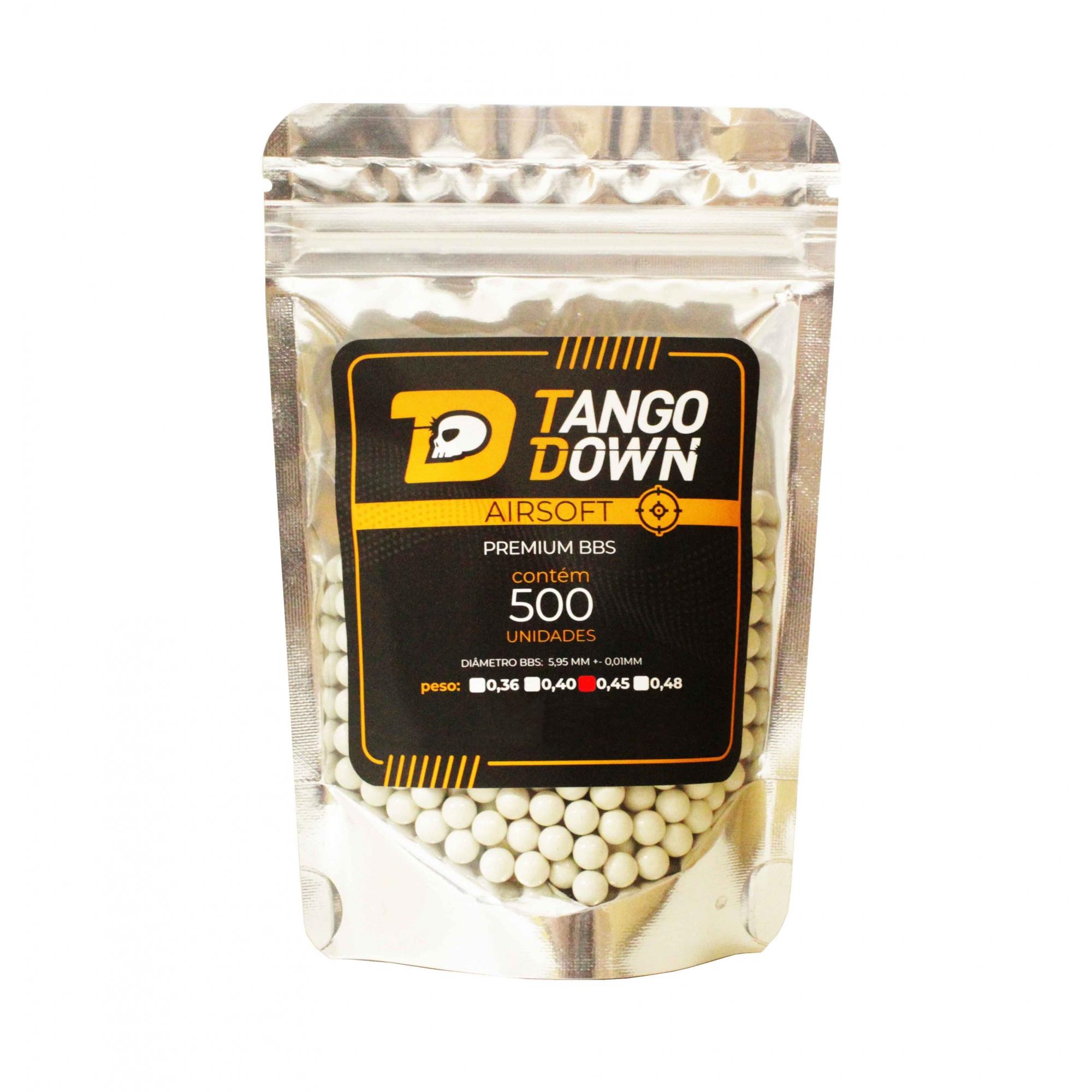 BBS Tango Down 0,45 com 500 Unidades