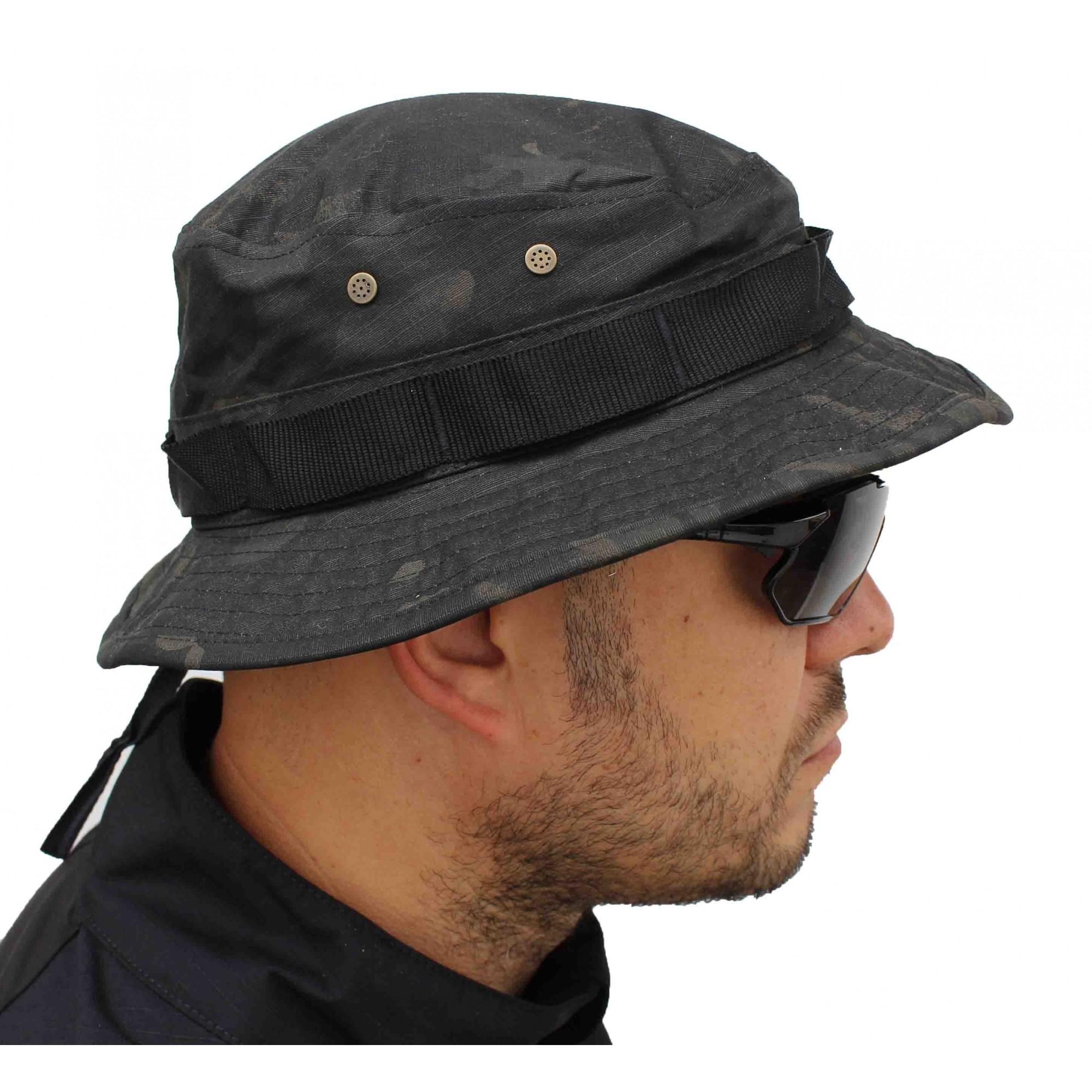 Bonnie Hat Multicam Black