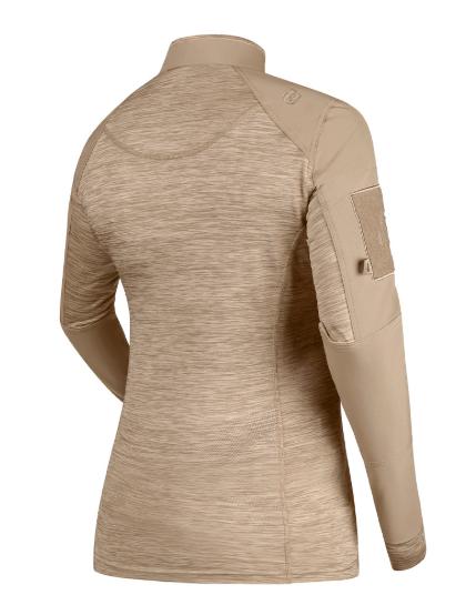 Camisa de Combate Feminina Invictus Courage Caqui Mojave