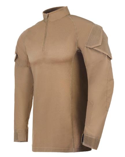 Camisa de Combate Operator Caqui Mojave
