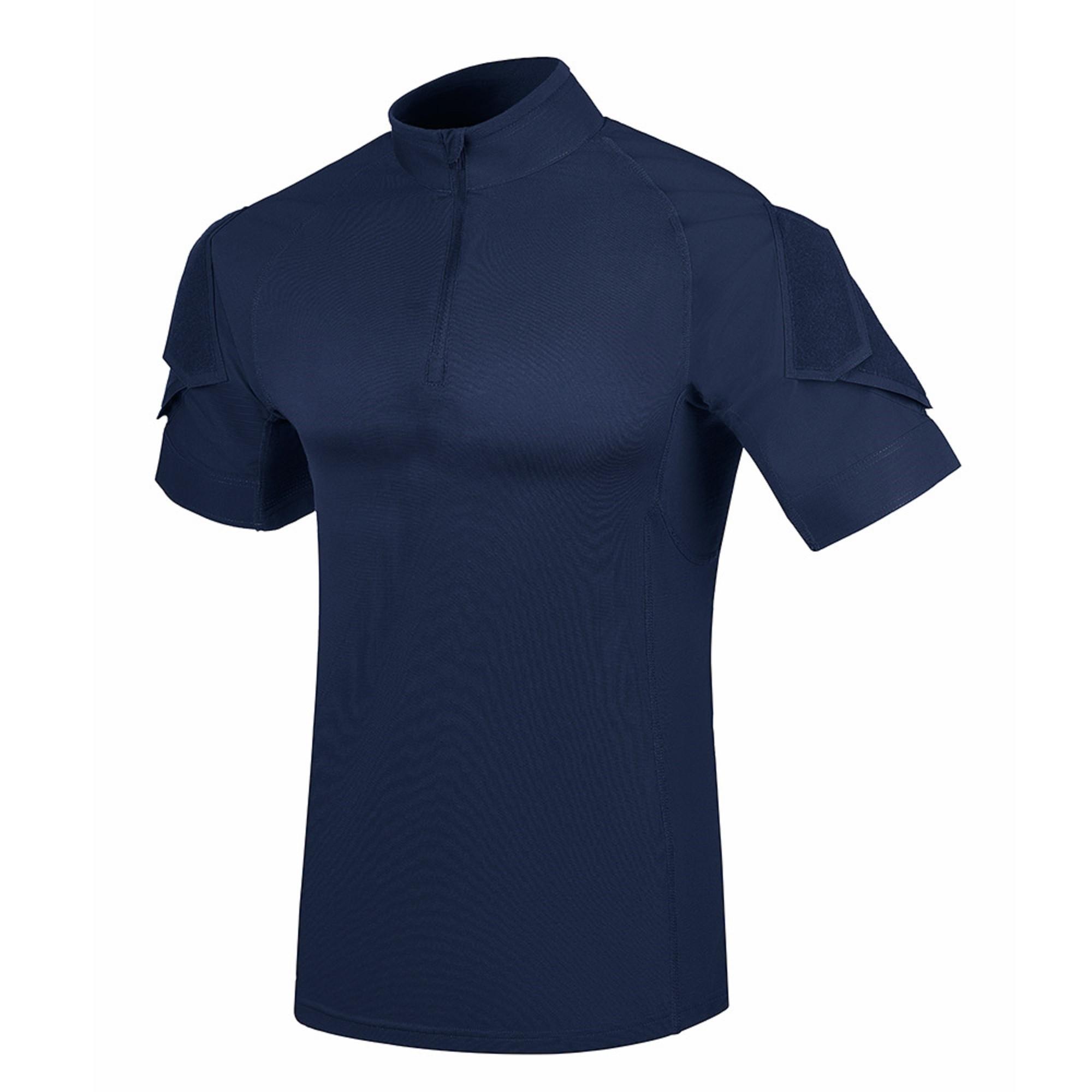 Camisa Invictus Fighter Azul Aviator