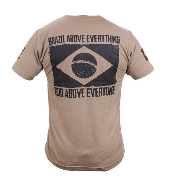 Camisa Tática BRAZIL DESERT Forhonor
