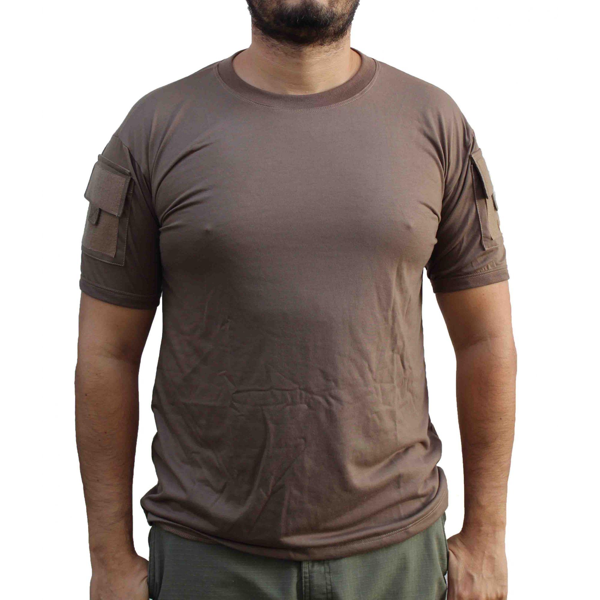 Camisa Tática Marrom/ Chocolate