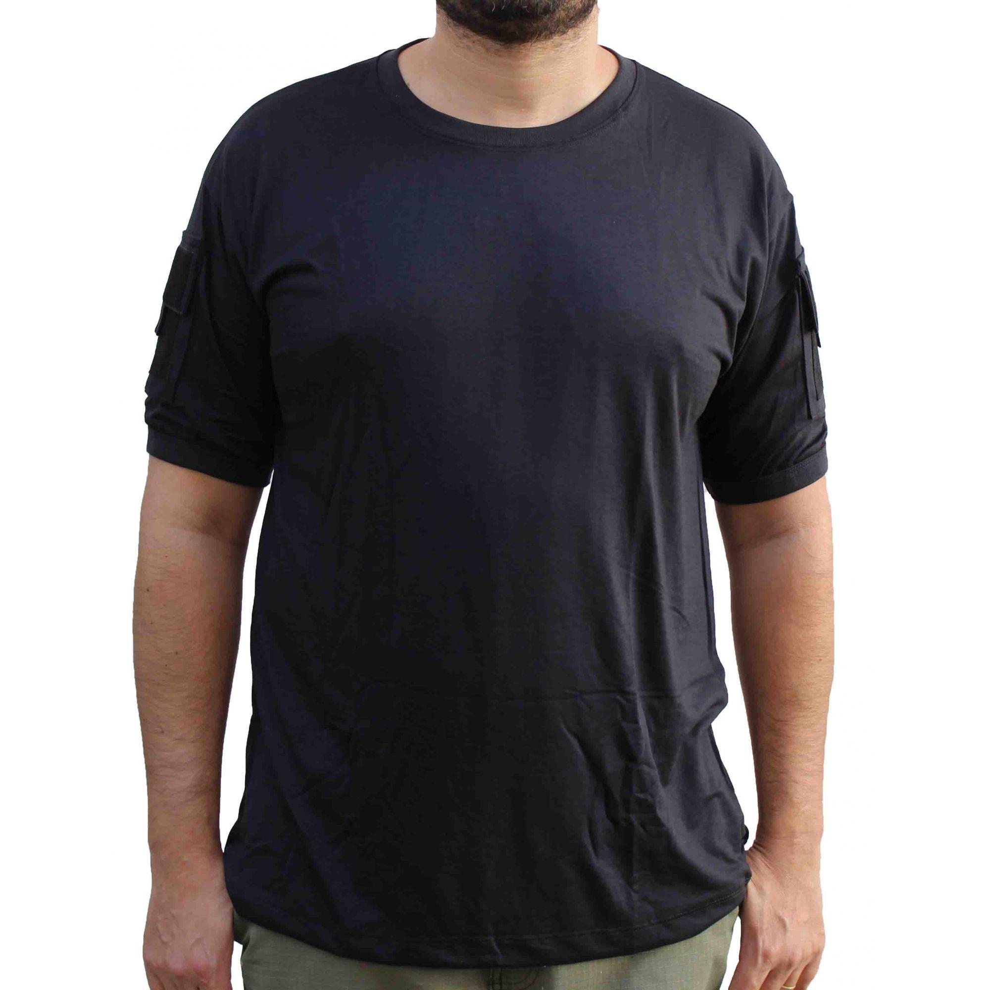 Camisa Tática Preta