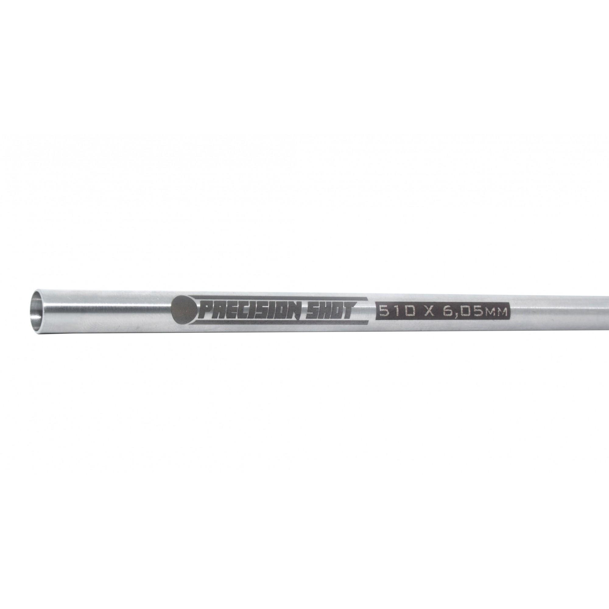 Cano de Precisão 510mm x 6,05mm Janela Fechada Hibrido VSR/AEG