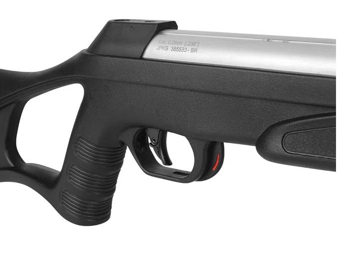Carabina de Pressão CBC 5.5mm Nitro-X 1000 Cromo