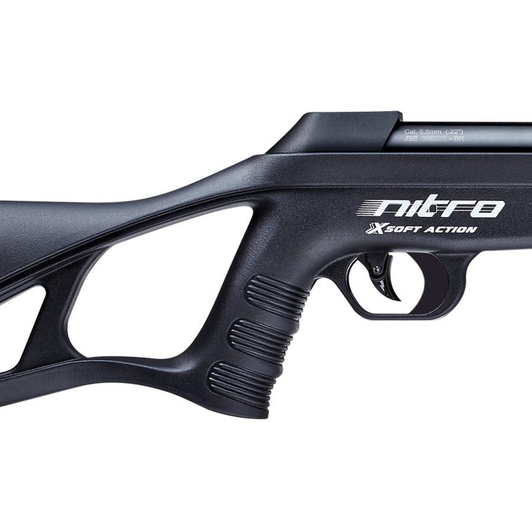 Carabina de Pressão CBC 5.5mm Nitro-X 900 Soft Action Oxidada