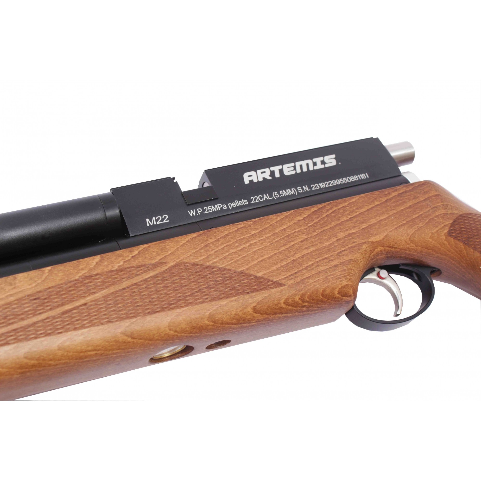 Carabina de Pressão PCP Artemis 5.5mm M22