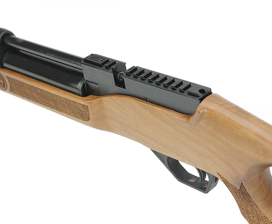 Carabina de Pressão PCP Hatsan Flash Wood 5,5mm