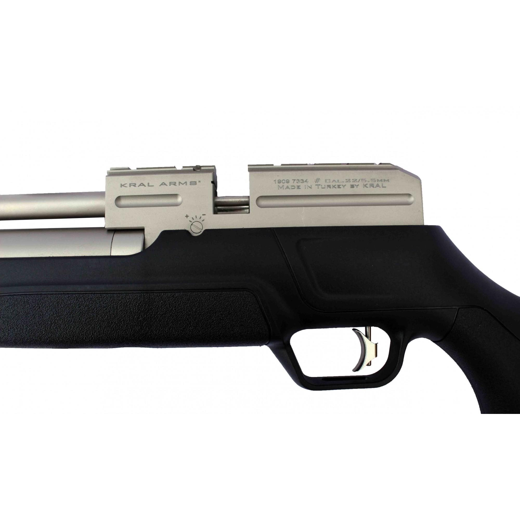 Carabina de Pressão PCP Kral Puncher Mega Marine 5.5mm