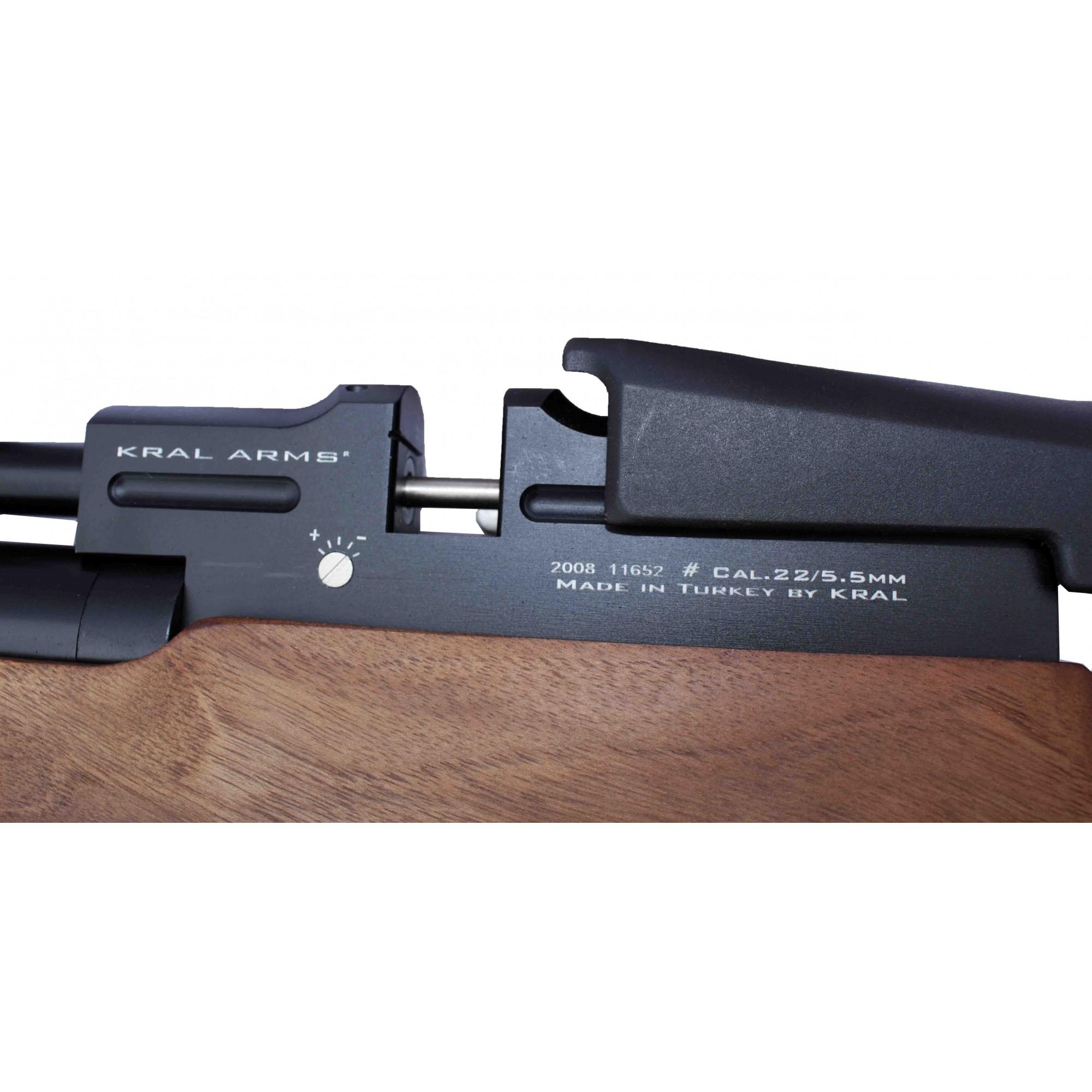 Carabina de PressPCP Kral Puncher Breaker W 5.5mm