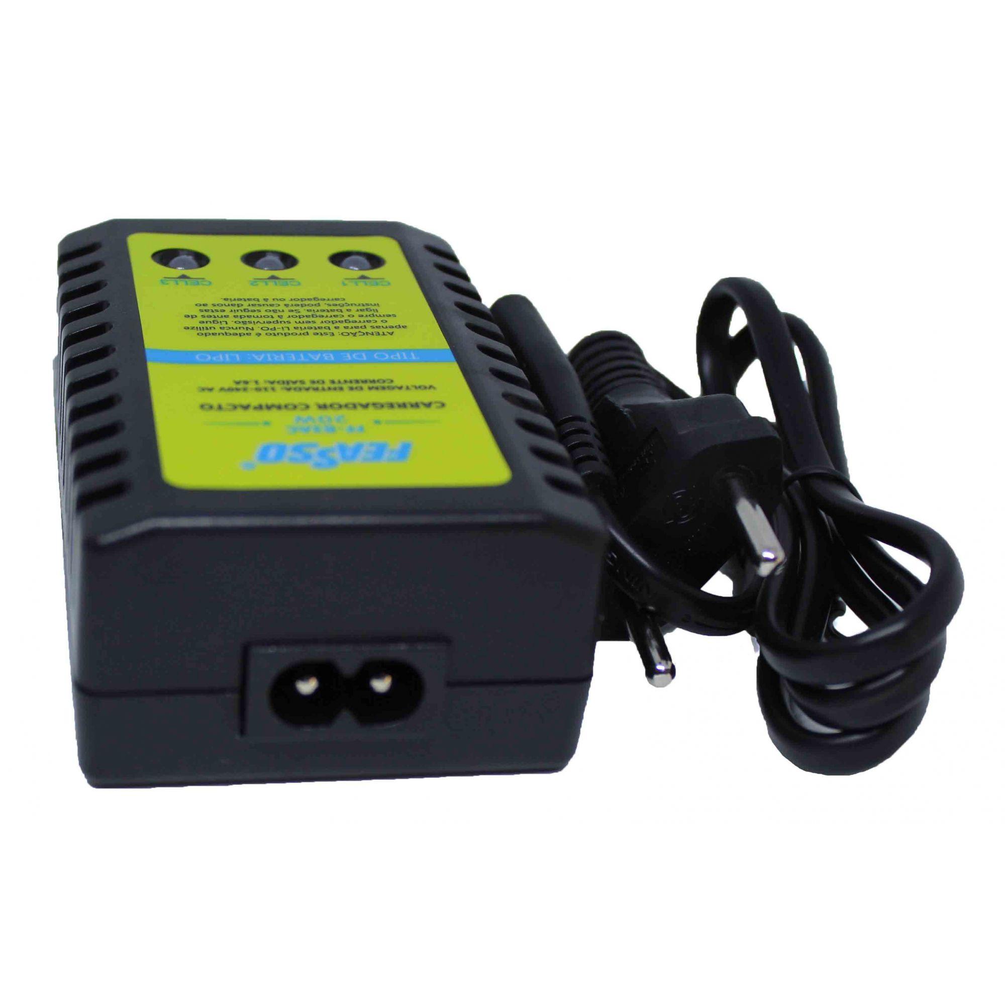 Carregador Compacto para Bateria Lipo