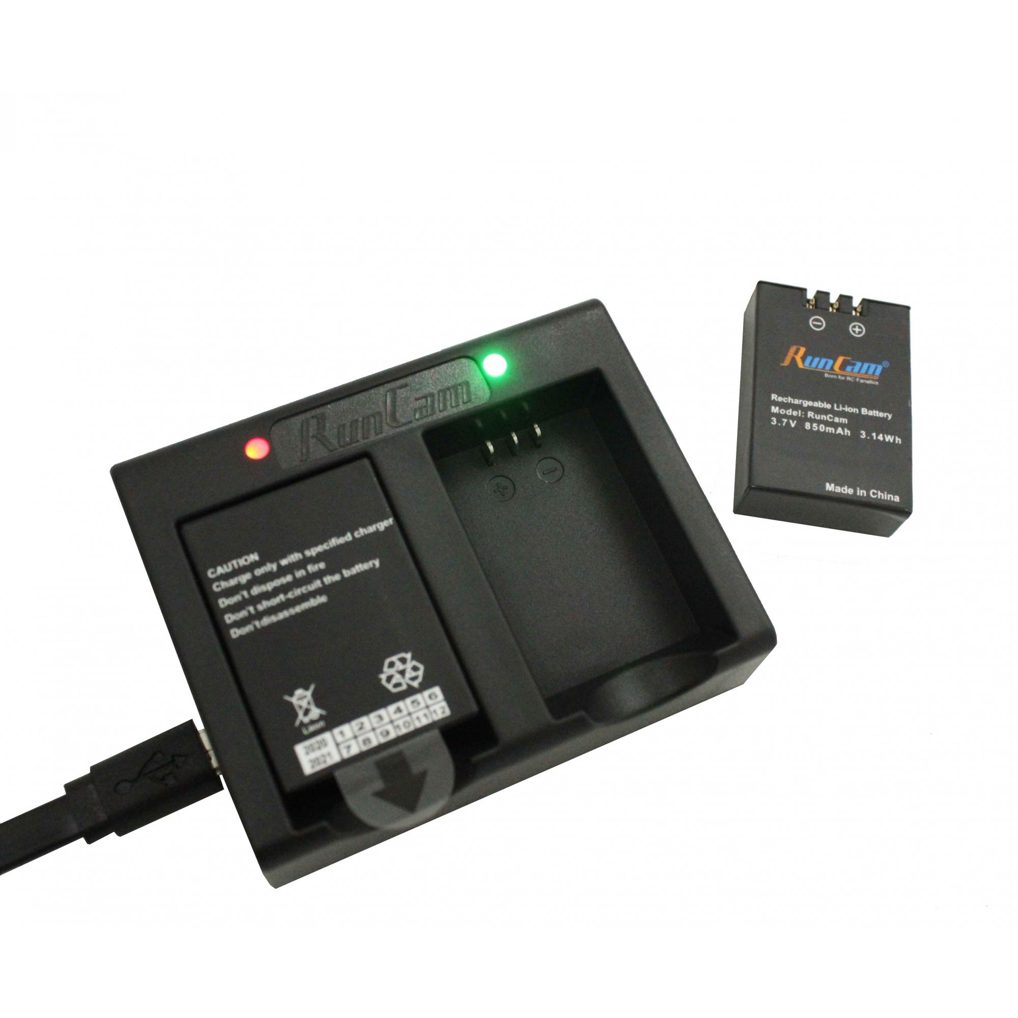 Carregador Duplo de Bateria Runcam