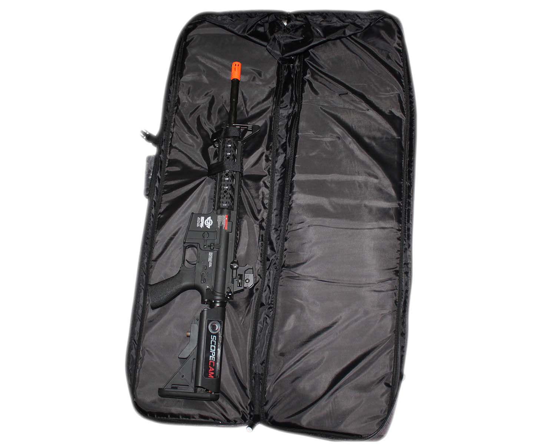 Case Mochila Para Airsoft Multicam Black