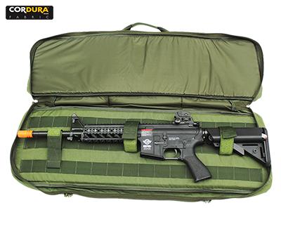 Case T4 Mochila de Rifle Com Chest - Verde