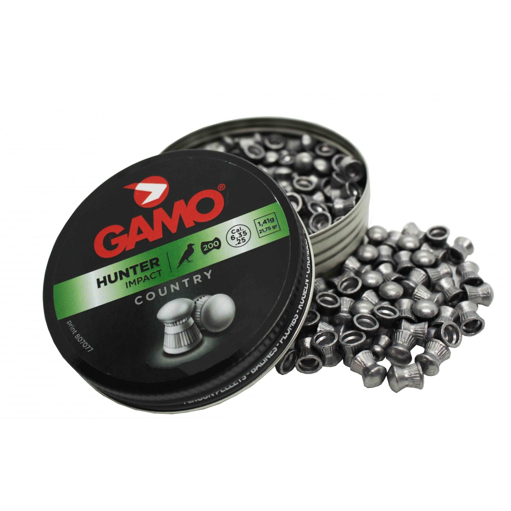 Chumbinho Gamo Hunter 6,35mm 200 Und