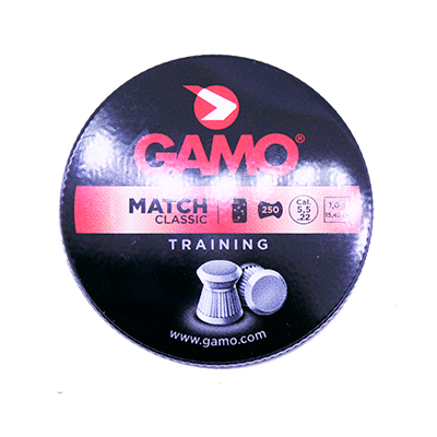 Chumbinho Gamo Match Classic 5.5mm Com 250 Und.