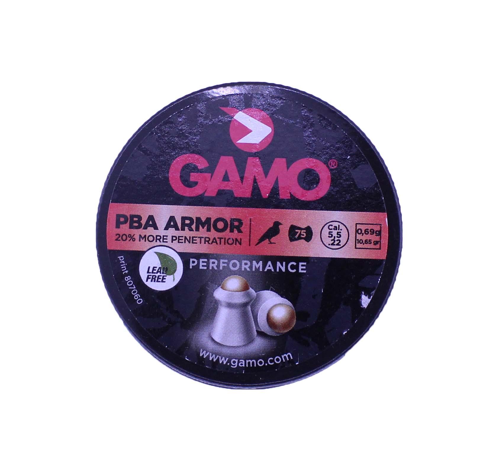 Chumbinho Gamo PBA Armor .22/ 5.5mm