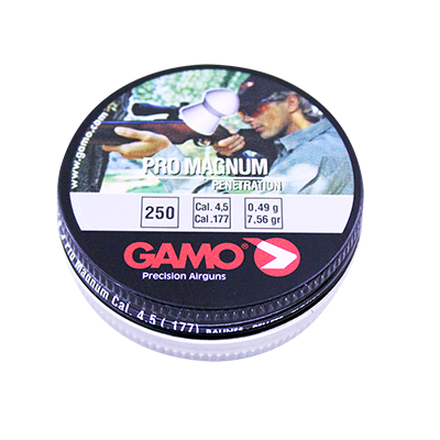 Chumbinho Gamo Pro Magnum Penetration 4,5mm 250 Und.