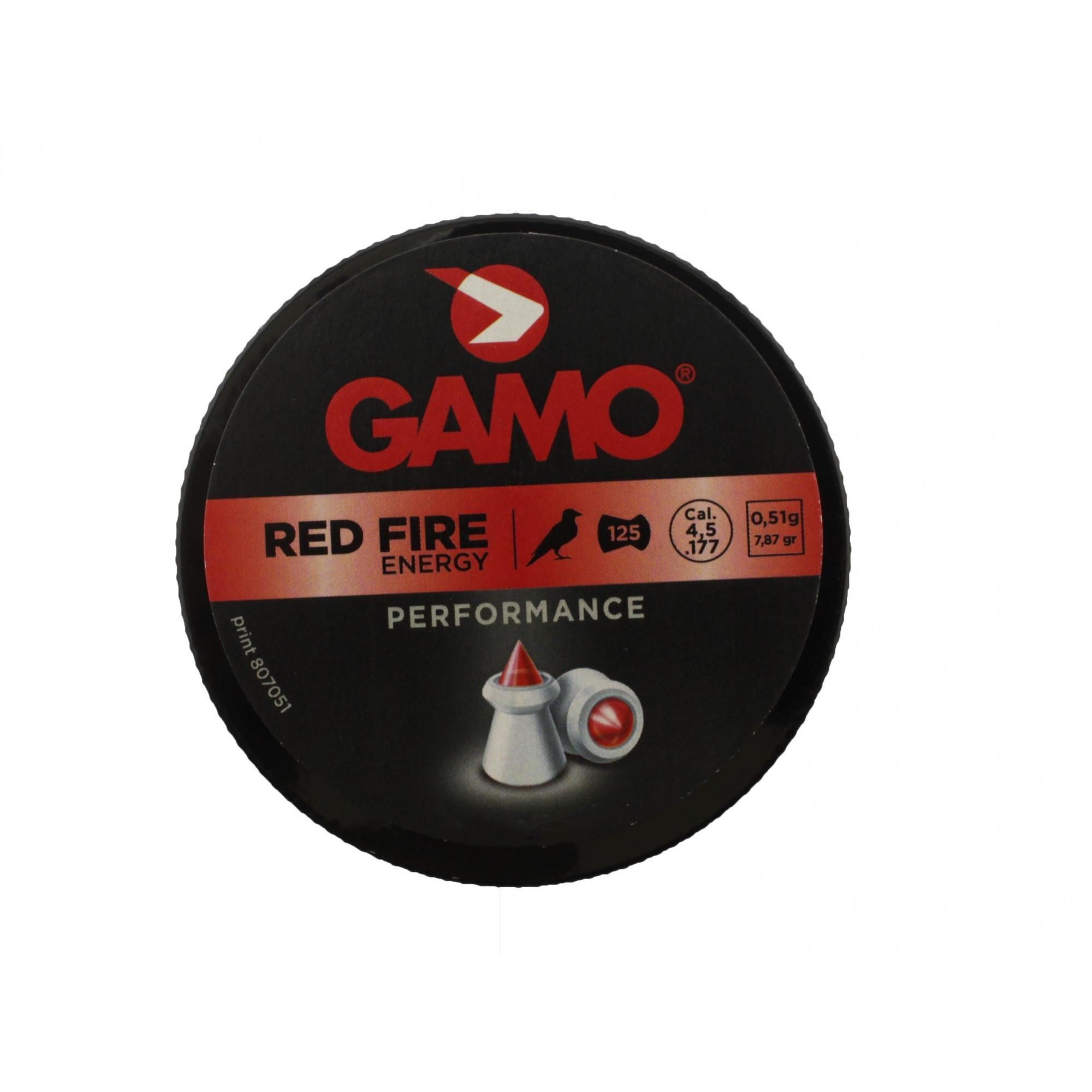 Chumbinho Gamo Red Fire Energy - 4.5mm