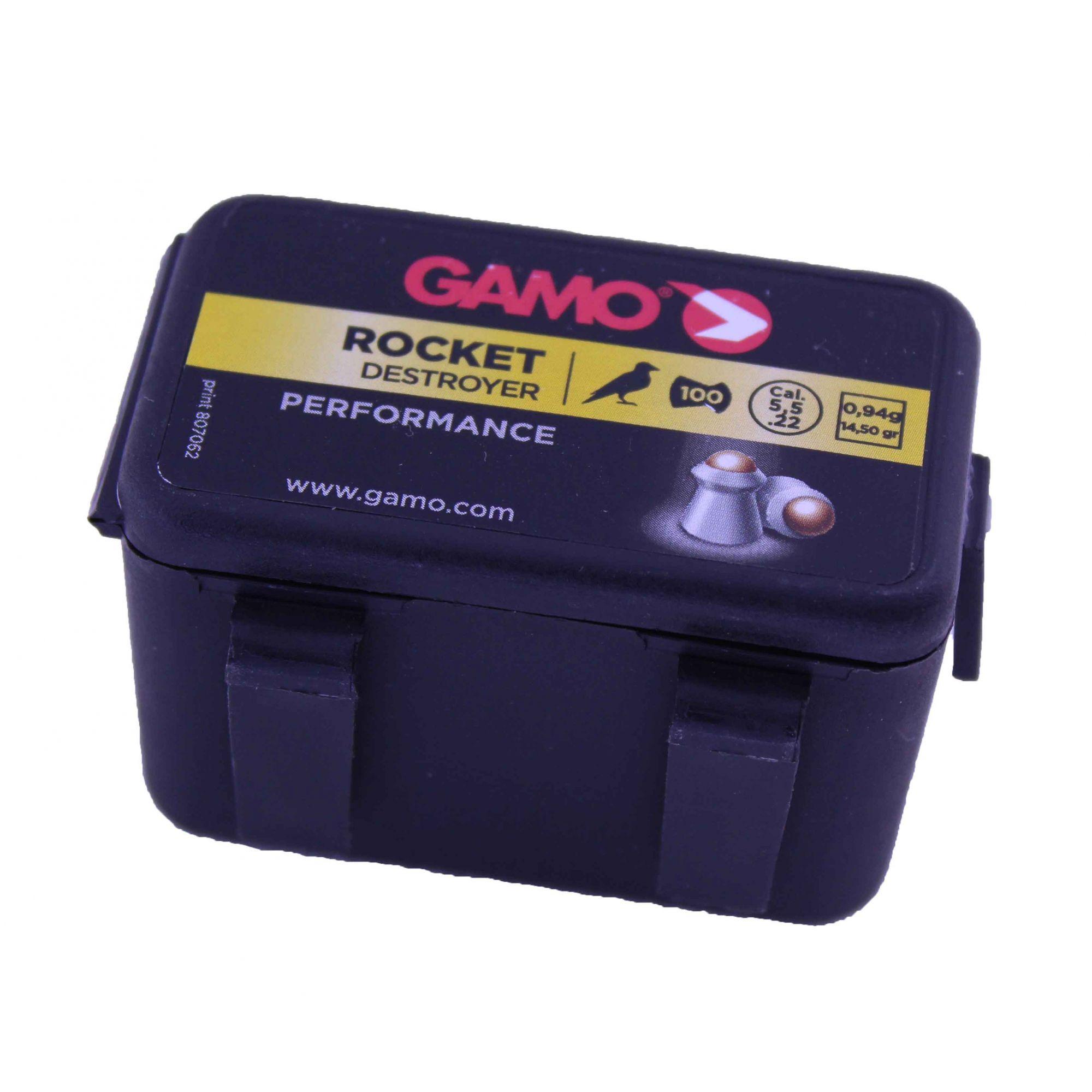 Chumbinho Gamo Rocket Destroyer Performance .22 5.5mm