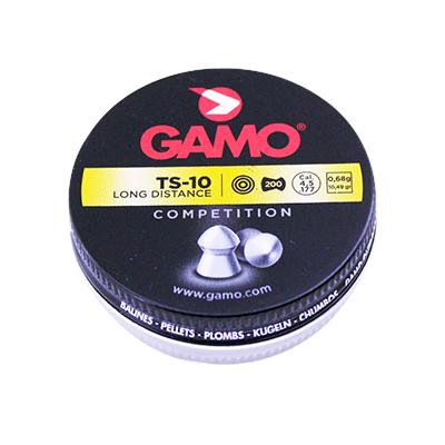 Chumbinho Gamo TS-10 Long Distance 4,5mm 200 Und.