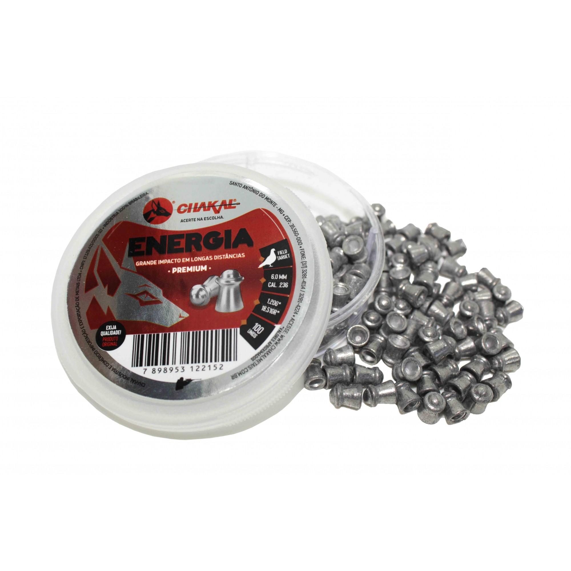 Chumbinho Premium Energia 6,0mm