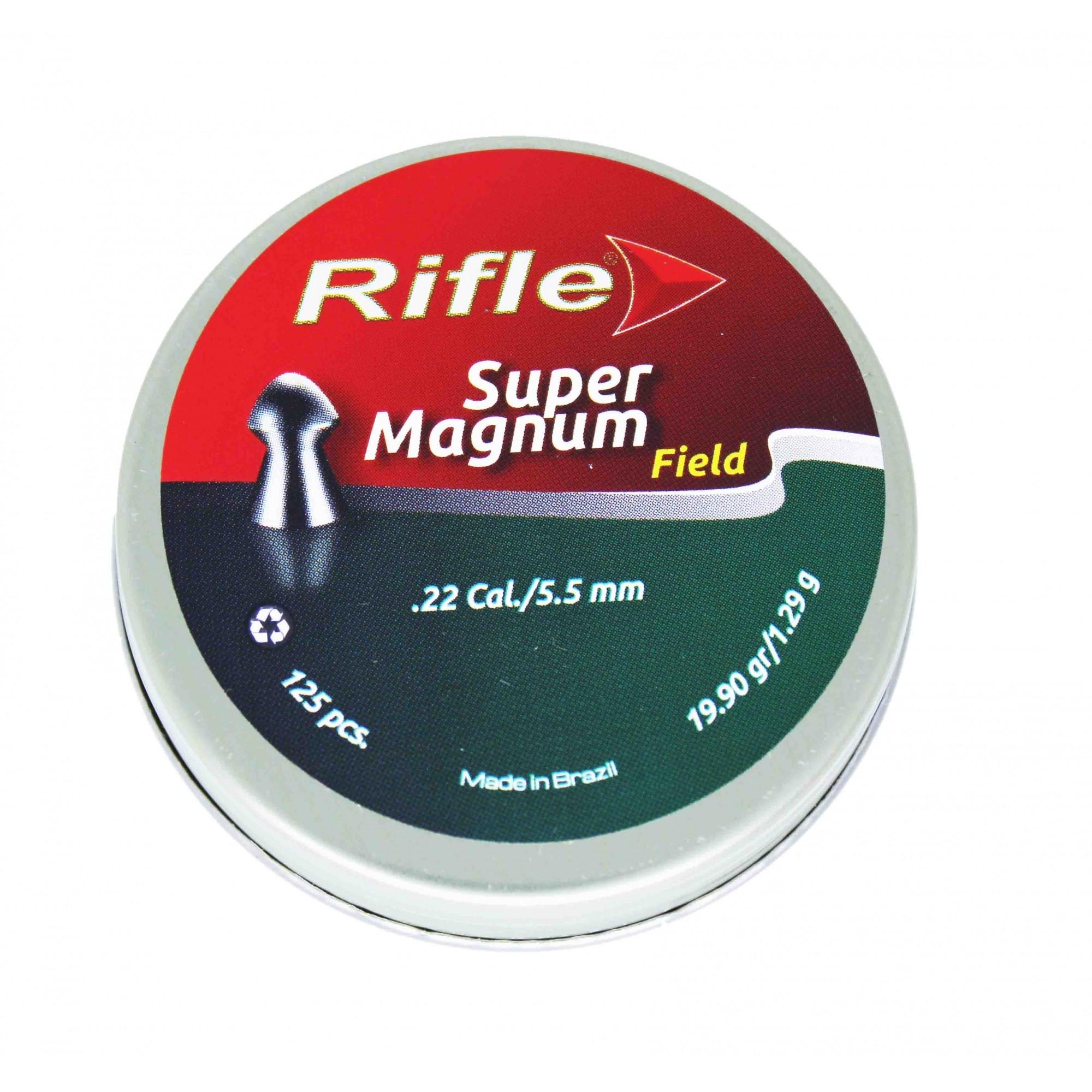 Chumbinho Rifle Super Magnum Field 5.5mm .22 Cal 125 Und.