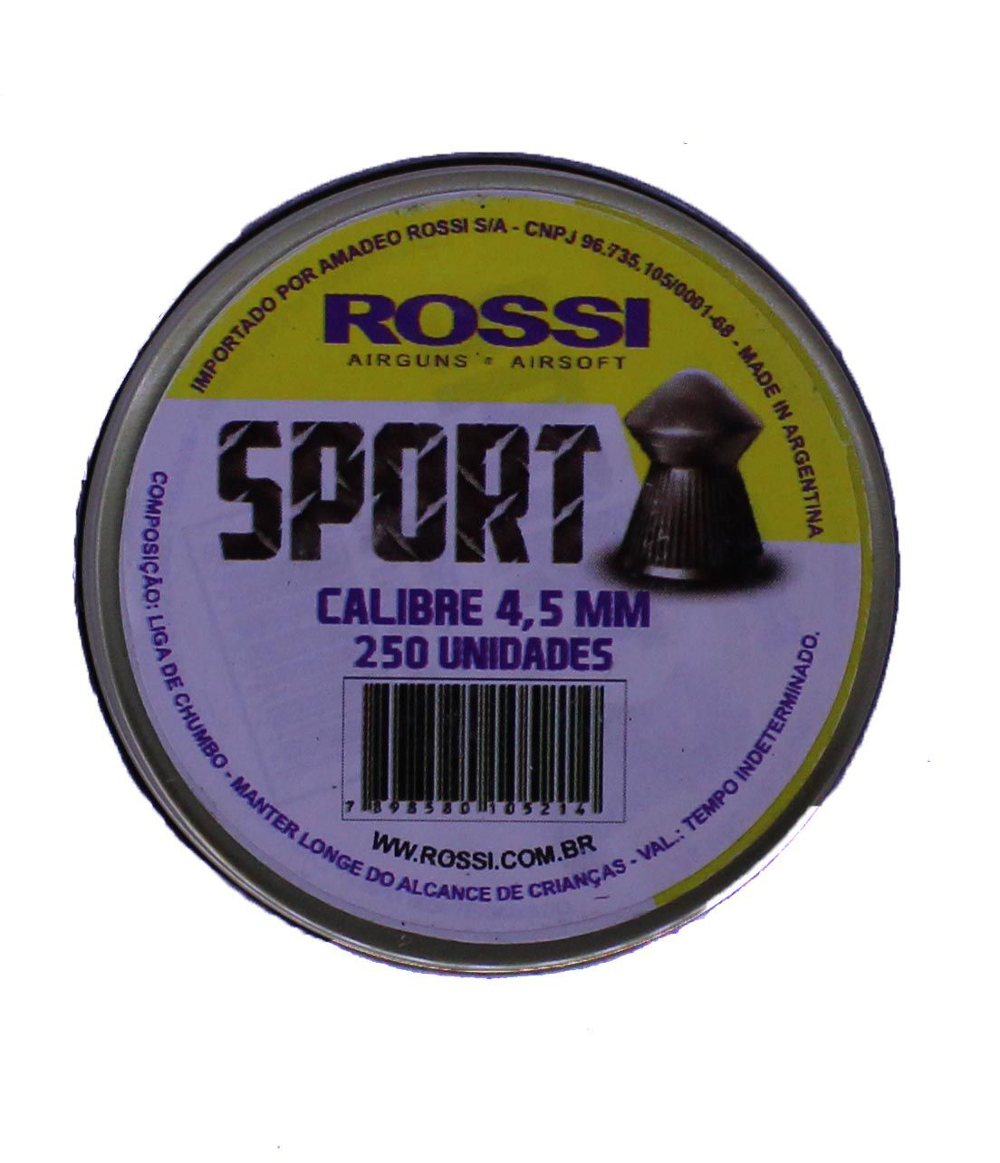 Chumbinho Sport - 4,5 mm