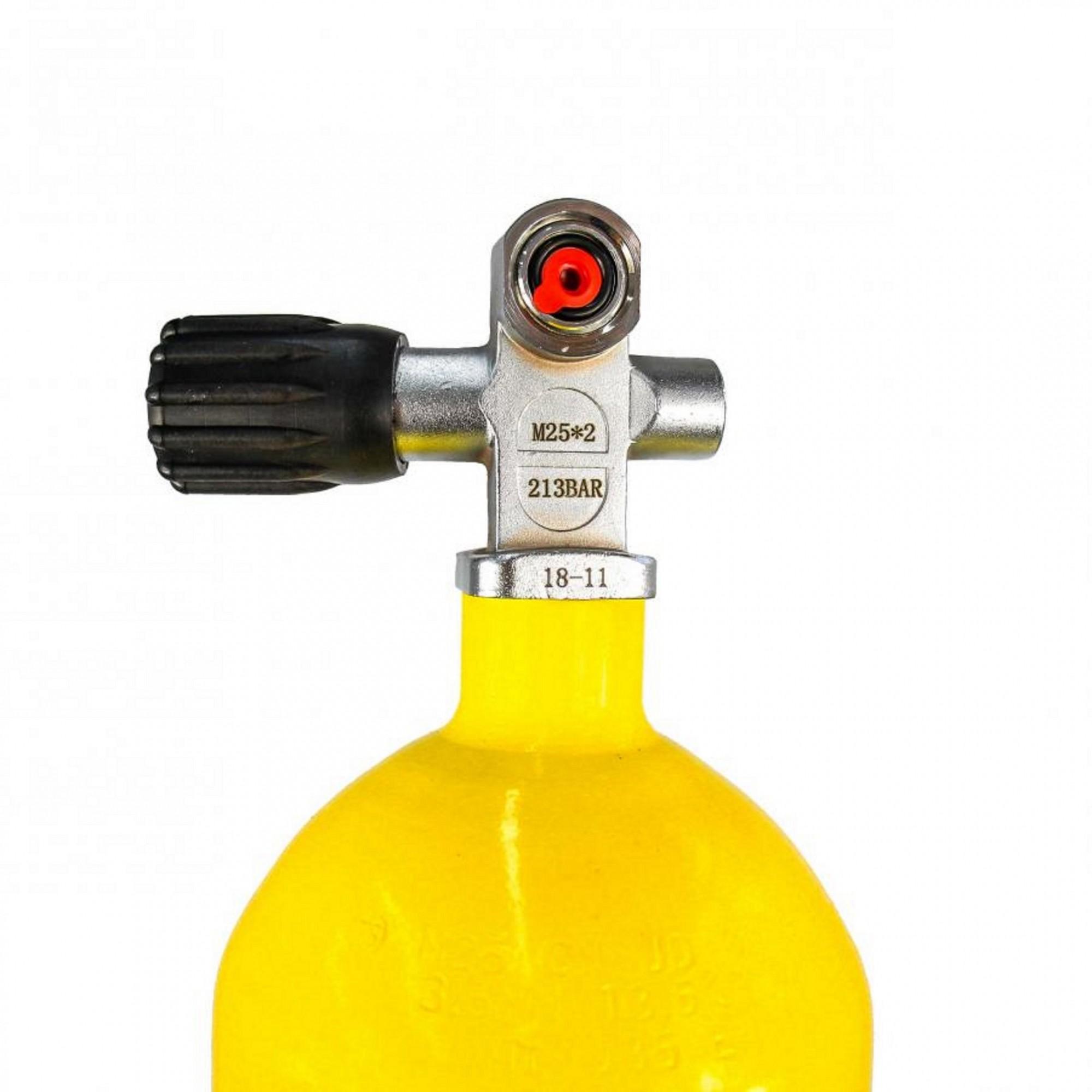 Cilindro de Aço de Alta Pressão-Scuba 10L - 213 BAR
