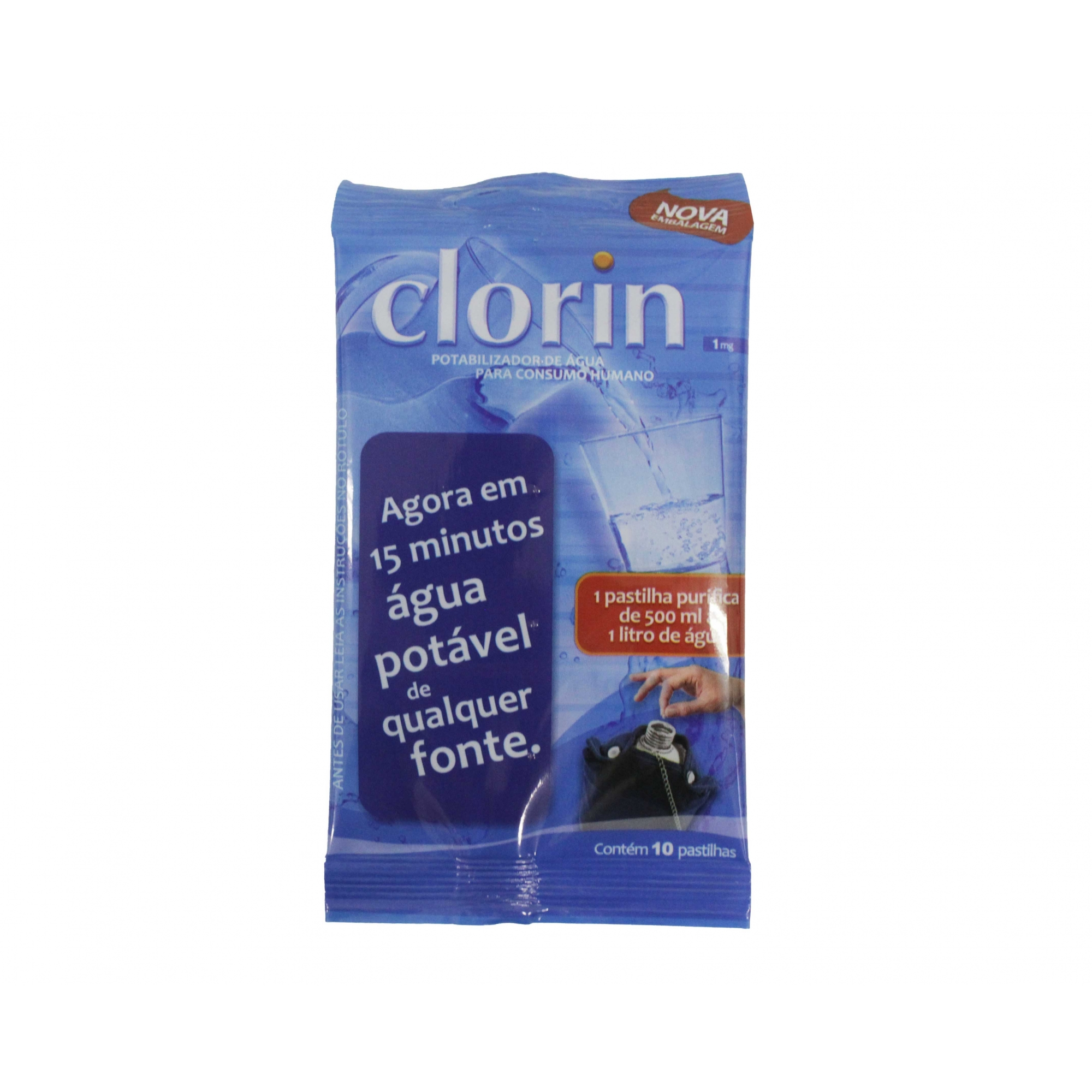 Clorin 1 mg Cartela com 10 unidades
