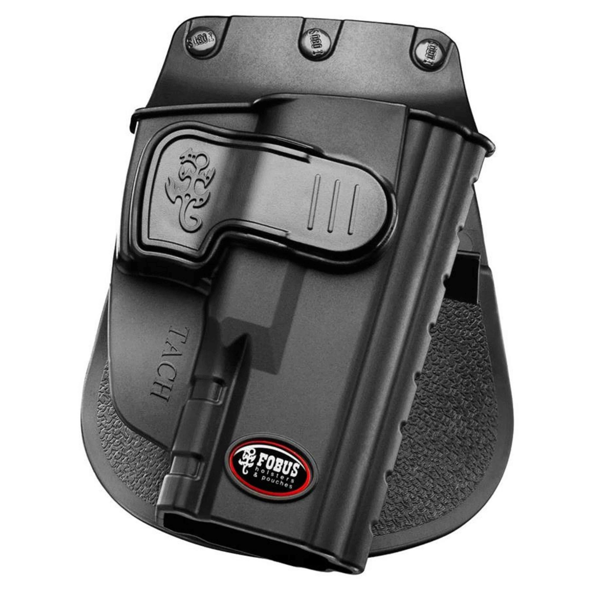 Coldre Fobus Tach Com Trava Para Pistola Taurus 24/7