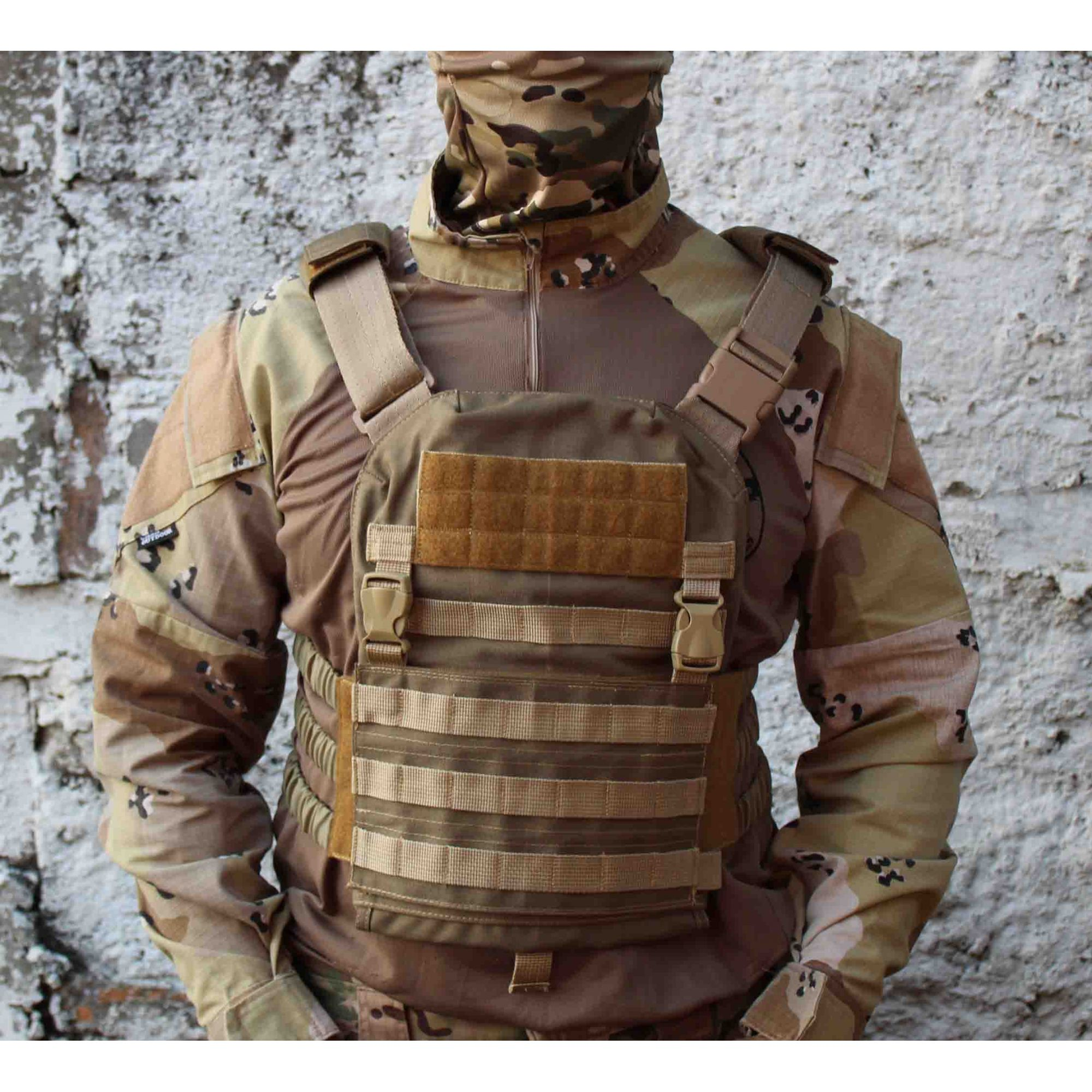 COLETE /PLATE CARRIER TATICO TAN