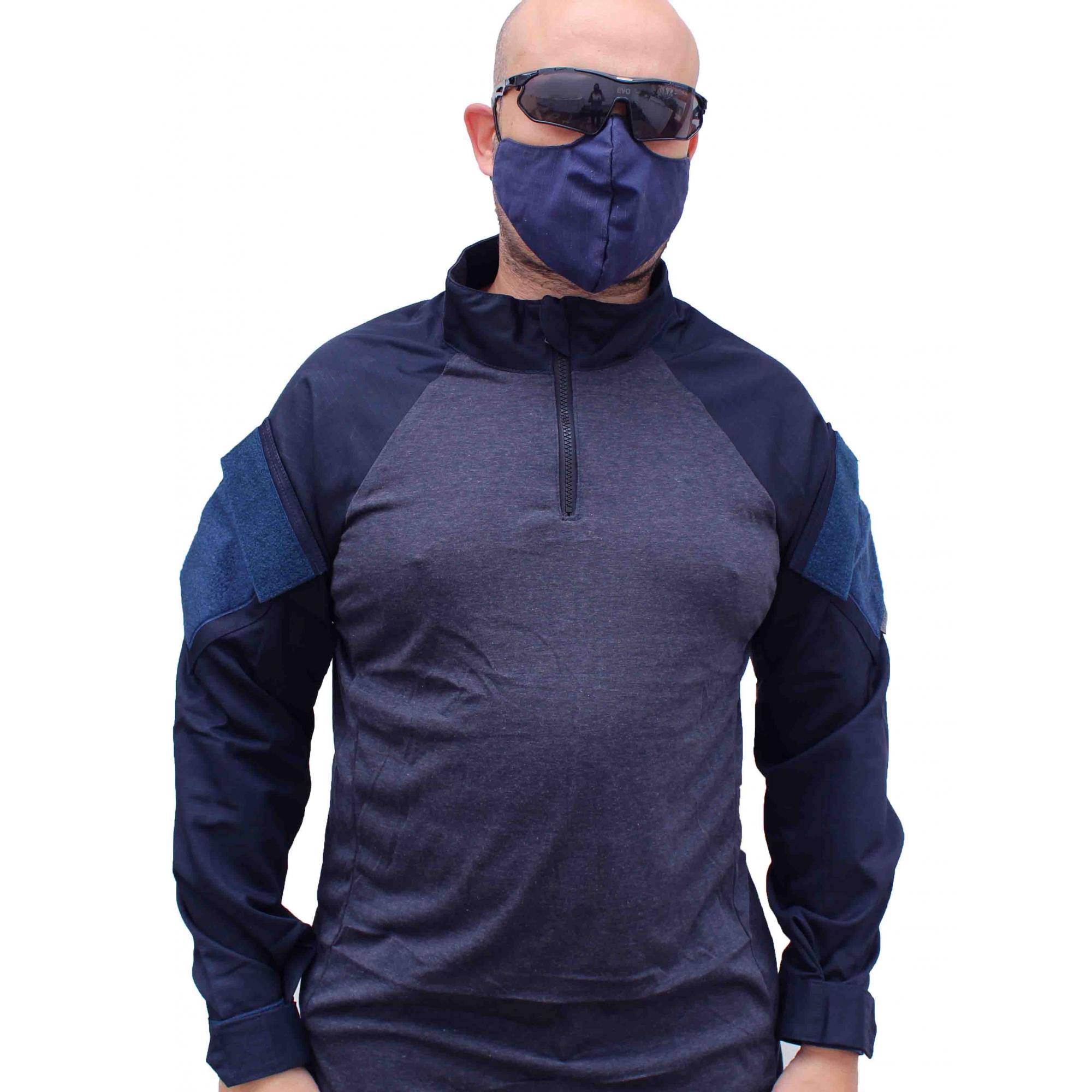 Combat Shirt 711 Forhonor Azul Marinho