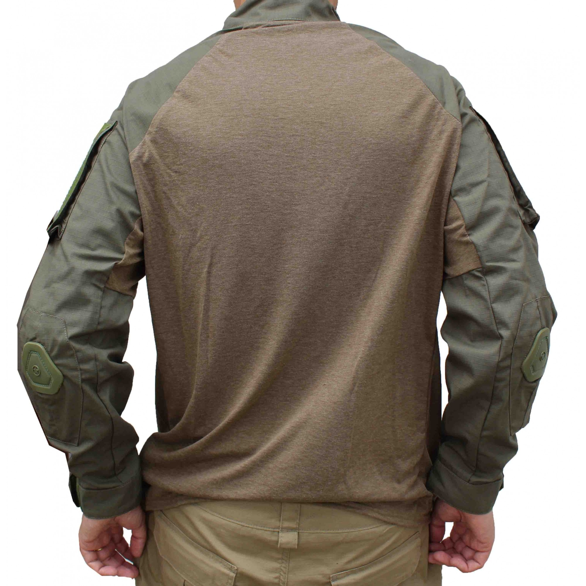 Combat Shirt 715 Forhonor  Olive Drab Com Cotoveleira