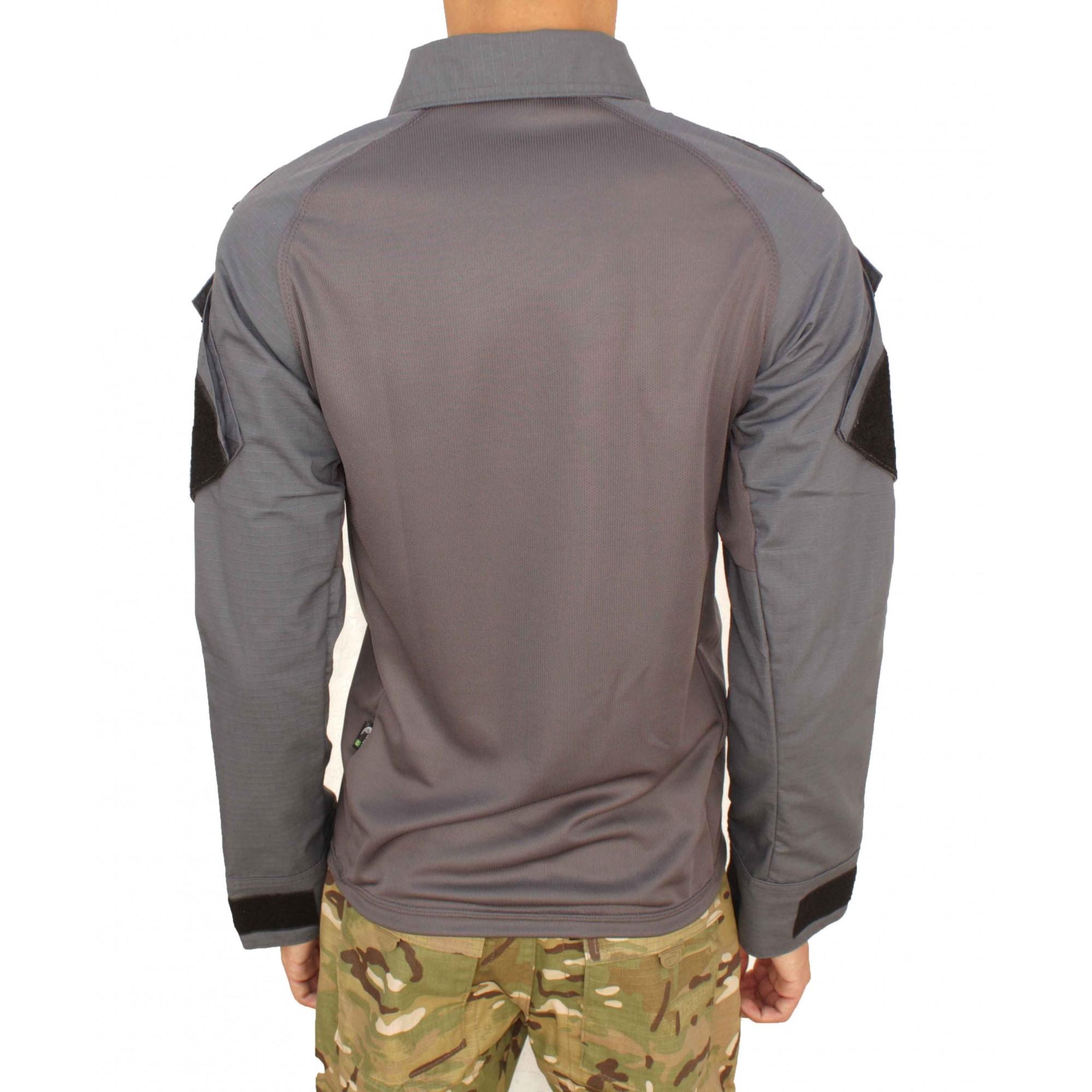 Combat Shirt Raglan Cinza Fox Boy