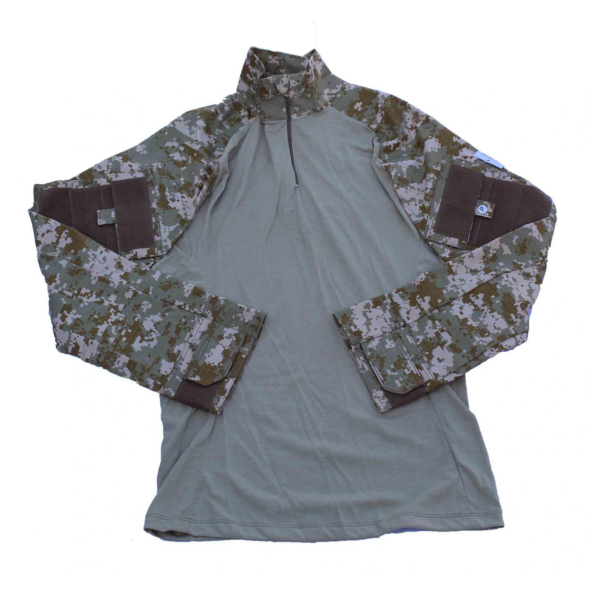 Combat Shirt Tática - Camo