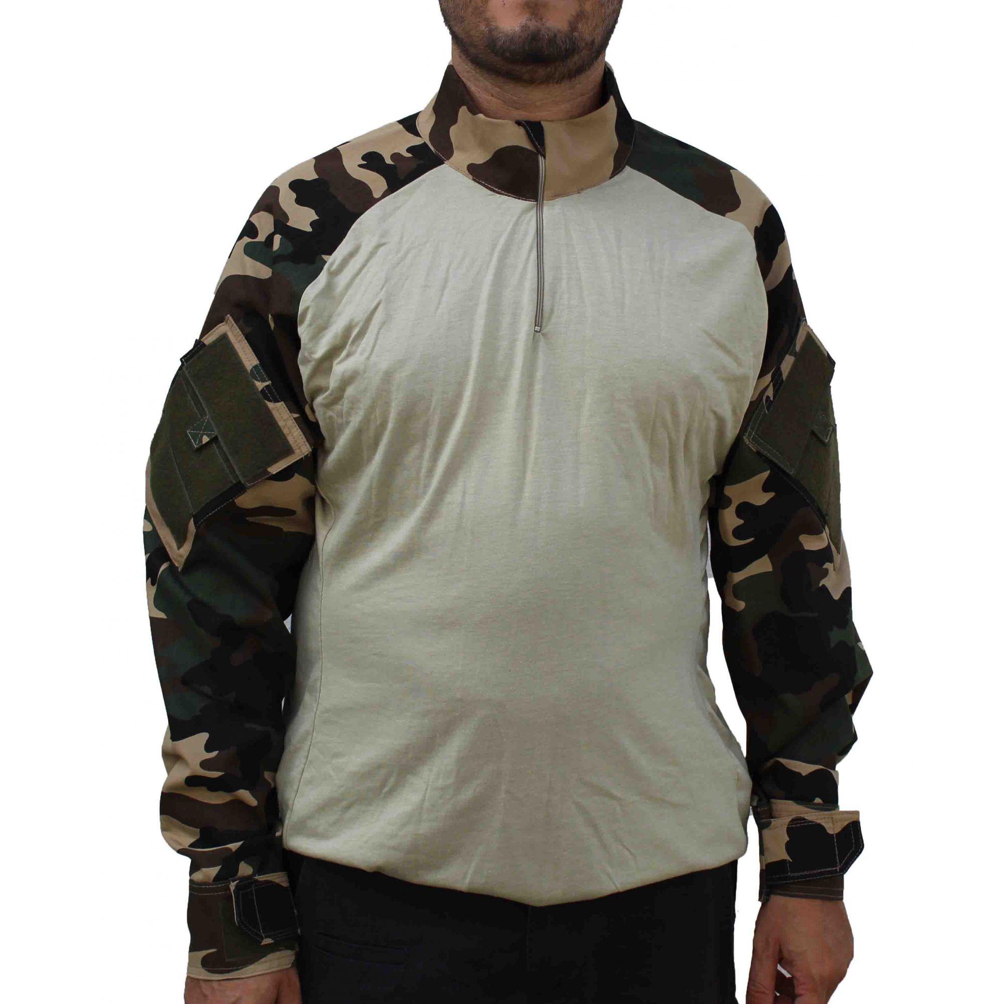 Combat Shirt Tática - Camuflado Francês