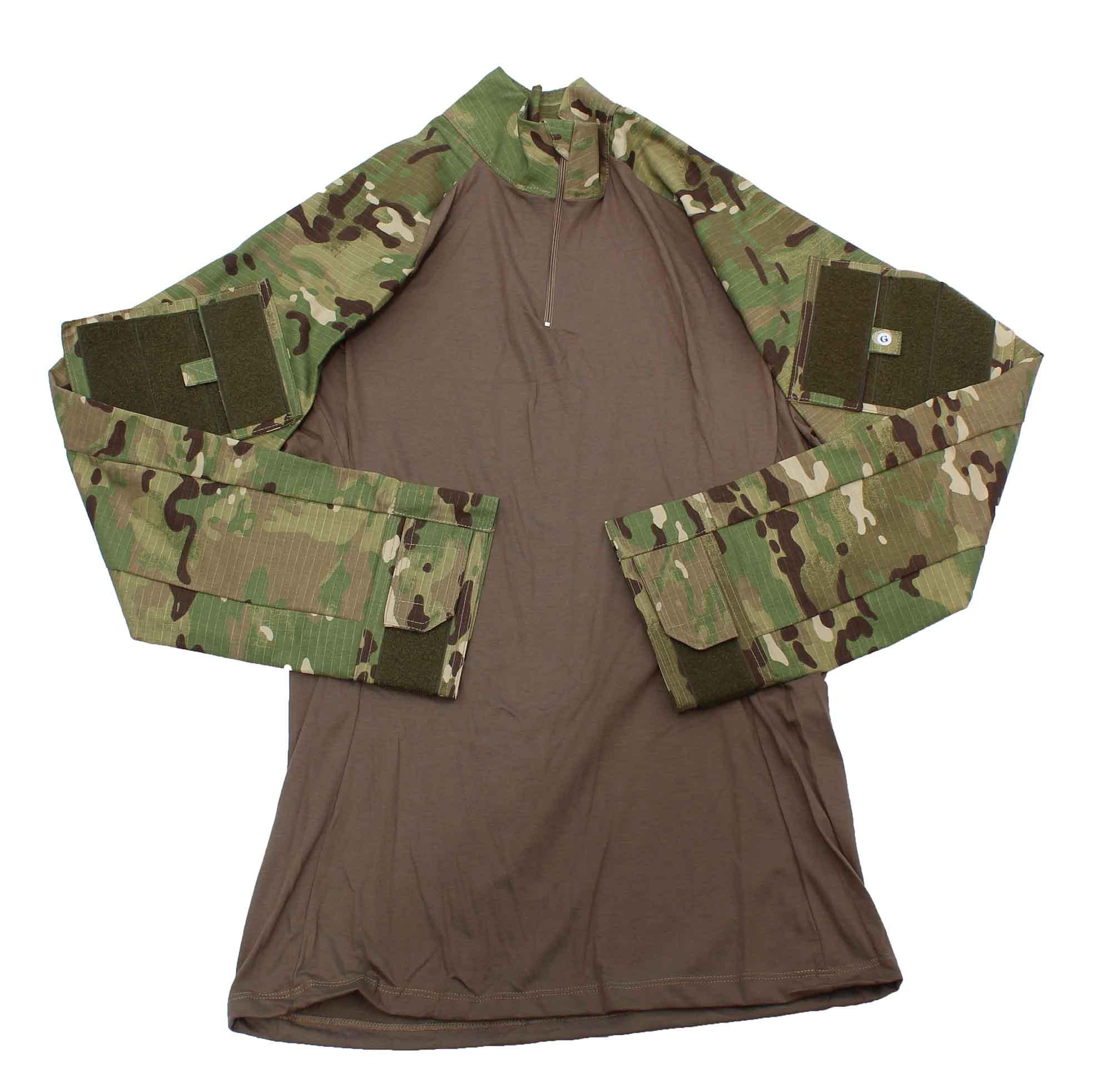 Combat Shirt Tática - Multicam