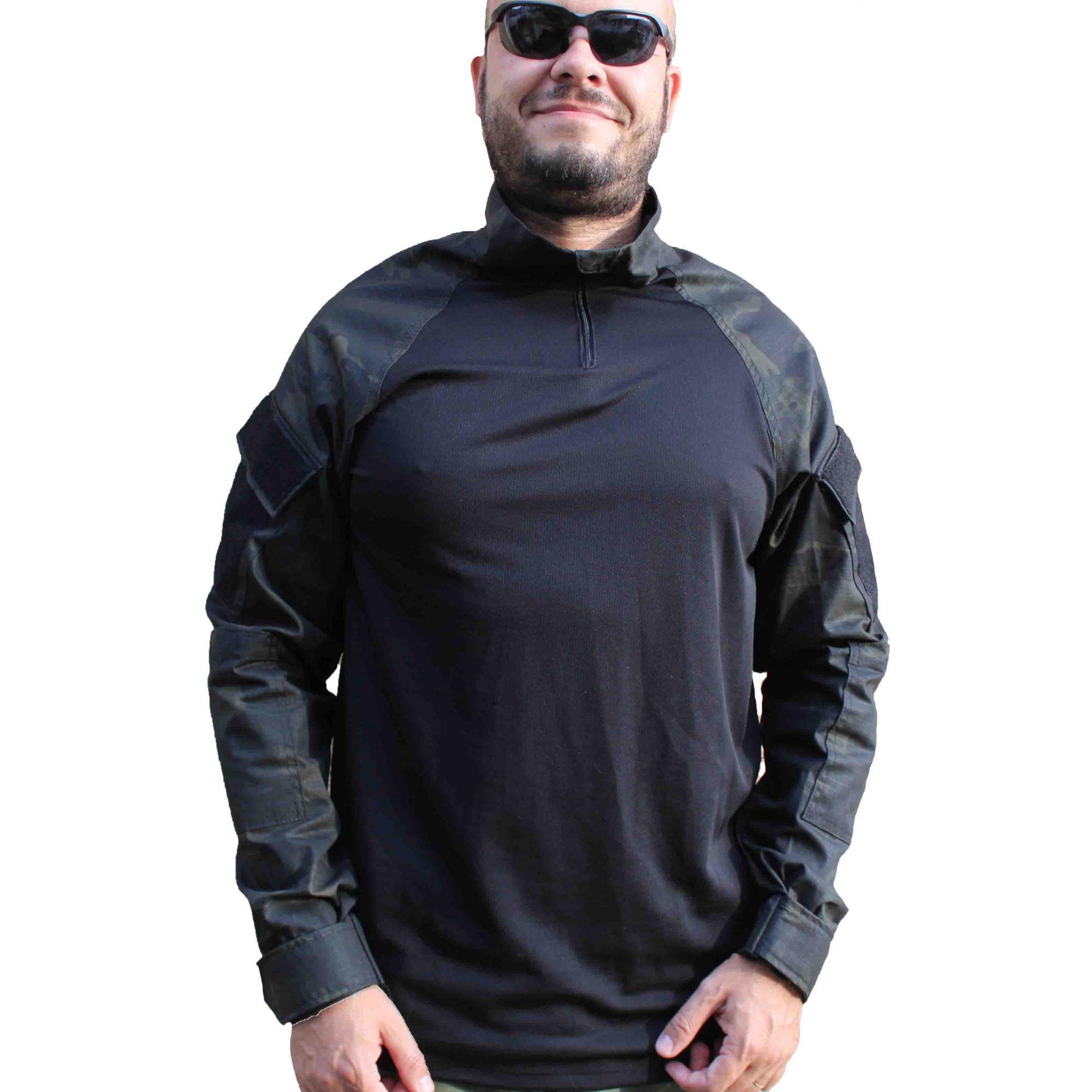 Combat Shirt Tatica - Multicam Black